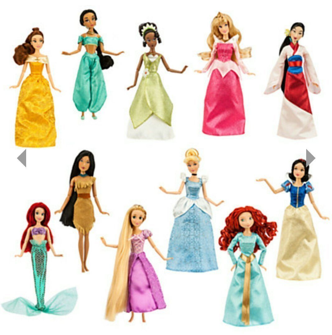 Disney Princess Classic Doll Gift Set - 11 dolls