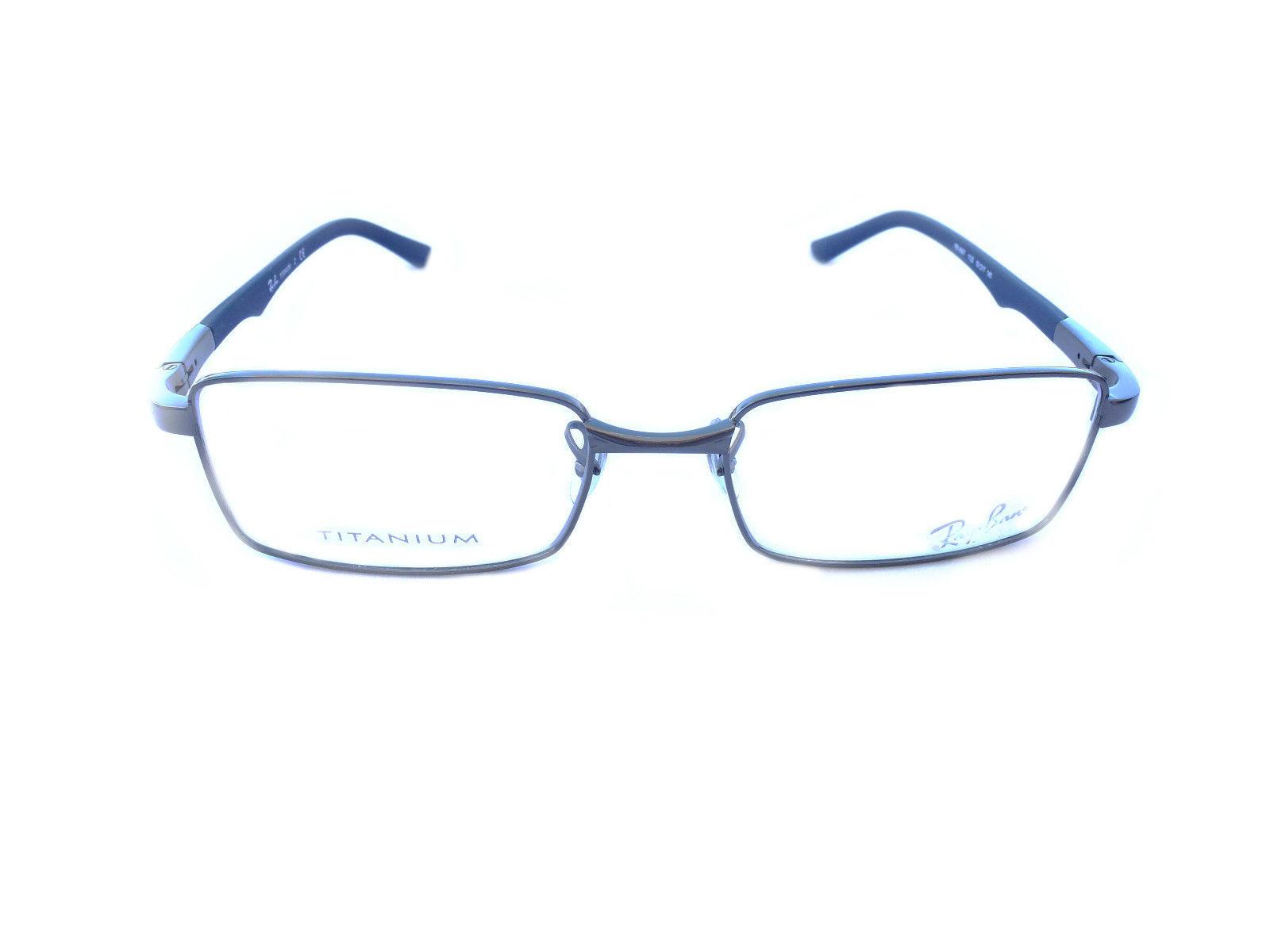 Ray Ban Titanium Glasses Frames : Ray-ban eyeglasses frame Model RB8667 Gunmetal 100% ...