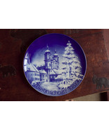 Weihnachten 1967 collector plate Bavaria Germany Bareuther Christmas (t8) - $46.55