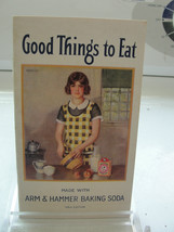 Arm & Hammer Baking Soda, Good Things to Eat, 1933 cookbook pamphlet, An... - $22.33