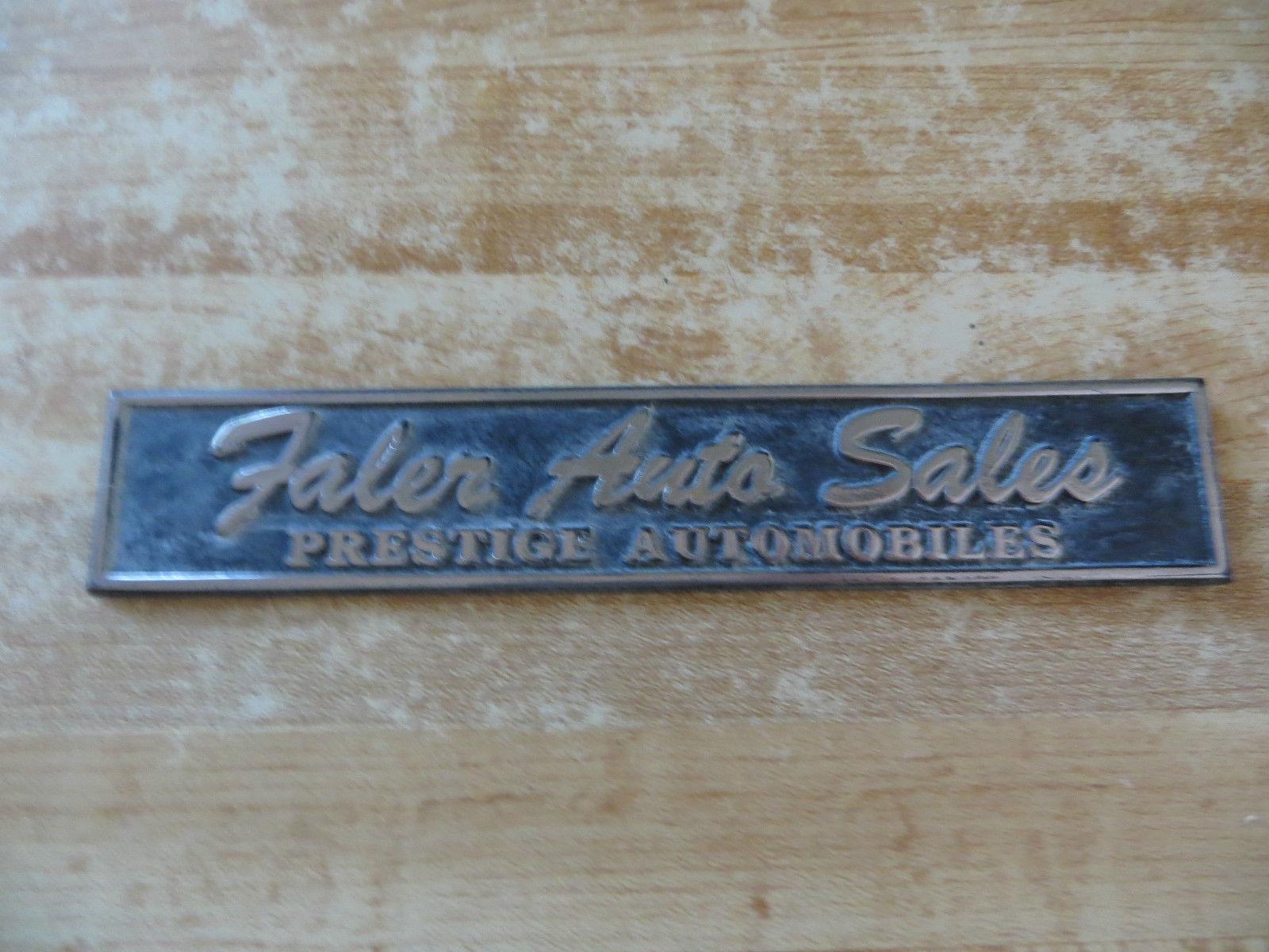 Faler Auto Sales Prestige auto KS dealership and similar items