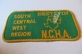 SOUTH CENTRAL WEST REGION, BEST IN TEXAS, N.C.H.A.AWARD SOUVENIR OLD PAT... - $14.25
