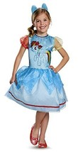 83313 (3T-4T) Girls Rainbow Dash Costume - $27.88