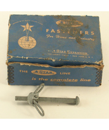 "STAR Fasteners 3"" Toggle Bolts 10/Pkg Vintage New Old Stock Box - $17.00"