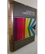 Elementary Linear Algebra, First edition 1980 S... - $3.00