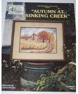 Autumn at Sinking Creek Linda Myers Cross Stitch - $3.50