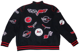 JH Design Chevy Corvette Cotton 150 Series Collage Jacket 4XL - $129.95
