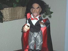 Halloween Dracula Vampire Animated Motionette - Light/Sound/Motion - £30.04 GBP