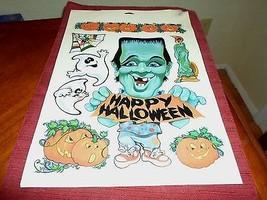 Halloween Monster Window Clings - £7.42 GBP