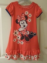 Disney Store Minnie Mouse Flowered Nightshirt Sz 4T - $24.95