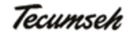 Tecumseh Muffler 27181C - $2.50