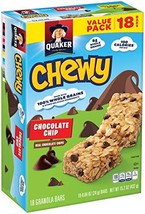 Quaker Chewy Bars, Chocolate Chip, 15.2oz - $9.70
