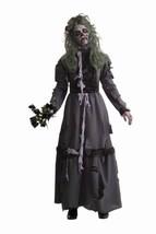 Forum Novelties Women's Zombie Lady Costume, Gray, Standard - $32.16