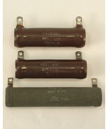 Tru-Ohm and IRC Resistors x3 From an Old Ham's Workshop - $14.00