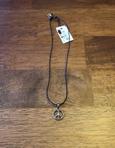 "Cookie Lee Peace Necklace With Stone ""New"" NWT - Jewelry - Fashion - Vin... - $5.00"