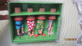 4 PCS BOSTON WAREHOUSE BOTTLE STOPPERS BEAH LEGS BOTTLE STOPPES - $4.94