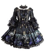 Metamorphose Witch In The Forest Princess Sleeve Gothic Lolita Dress + N... - $589.00