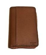Dropp Kitt Diabetic Travel Carry Case Leather Supplies Organizer - Tan - $35.18