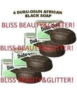 Dudu Osun 4 LOT! Tropical Natural Black Soap 150g With Citrus Juice&Nati... - $14.99