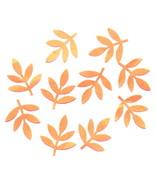 Die Cuts Bright Golden Orange Leaf Spray 10 Pk - $1.85