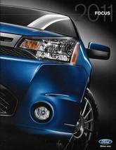 2011 Ford FOCUS sales brochure catalog US 11 SE SEL SES - $6.00