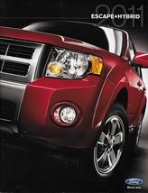 2011 Ford Escape Sales Brochure Catalog Us 11 Xls Xlt Limited Hybrid - $6.00