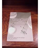 Yamaha Keyboard PSR-97 and PSR-195 Songbook, 102 songs, 72 pages, Song B... - $14.95
