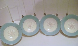Four Vintage China Berry Bowls with Berries - $15.00