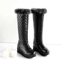 PB066 sexy thick lining & sole snow boots, warm & comfortable, size 34-4... - $1.068,92 MXN