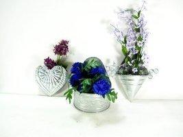 3pc Set Decorative Galvanized Wall Planters [Ki... - $14.30