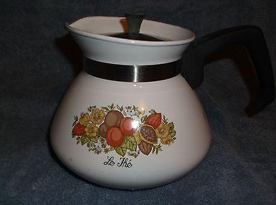 Corning Ware tea pot Spice of Life pattern