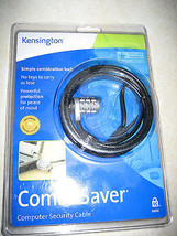 NEW Kensington 64050 ComboSaver Notebook Computer Security Cable Combo Lock - $14.99