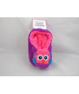 Girls Ballet Slipper Socks New S/M 10/13 Owl with Grippers Soft - $7.99