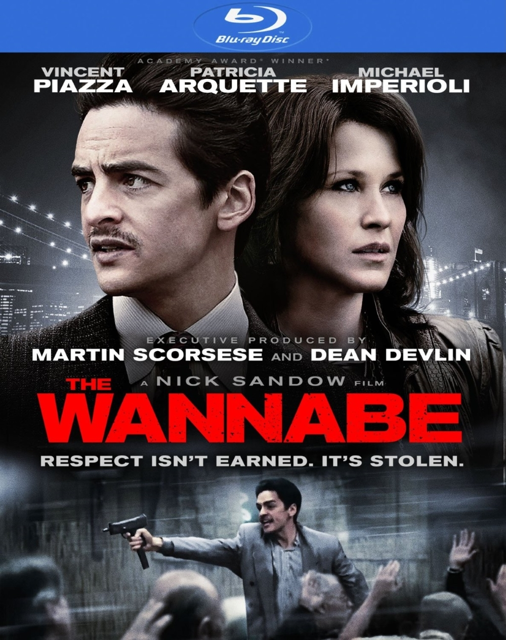 The wannabe  movie  blu ray disc  2016  vincent piazza  p. arquette  imperioli
