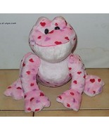 "Ganz Webkinz Love Frog 9"" plush Stuffed Animal toy Valentines Day Pink H... - $9.50"