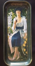 "Coca Cola 1921 Advertisement Tray 1973 ISSUE 8.5"" X 19"" Promotional Vintage - $15.00"