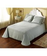 Matelasse Bedpread Sage Green Full - Queen & 2 Standard Pillow Shams - $29.99