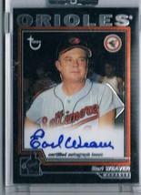 2004 Topps Retired Signature Autographs #EW Earl Weaver Auto  - $51.43