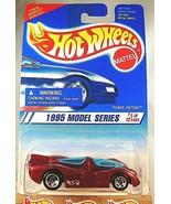 1995 Vintage Hot Wheels #347 1995 Models Series 5/12 POWER PISTONS Maroo... - $8.00