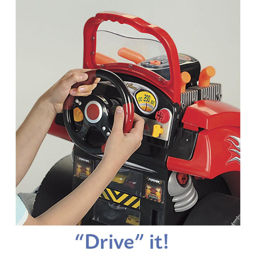 Kids Toddler Toy Service Car Station Mechanic