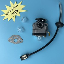 Carburetor & Fuel Line kit HONDA GX31 GX22 FG100 Trimmer Brush 139F 6100... - $11.86