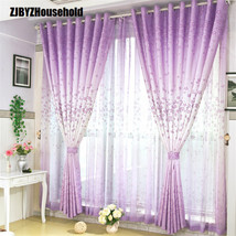 Curtains For High grade Bedroom Living Room Window Shading Curtain Fabri... - $18.70+