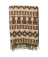 Two Set Blanket Throw Warm Light Brushed Alpaca... - $79.95