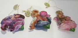 Bradford Exchange Wings of Wonder 3 Angel Ornaments Porcelain Series1 - $17.74