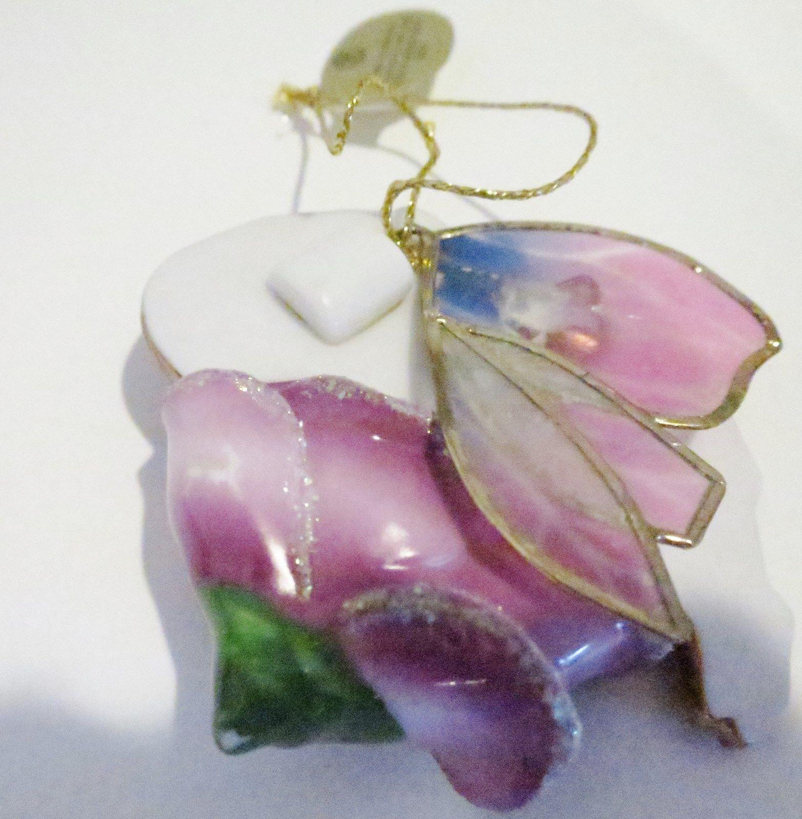 Bradford Exchange Wings of Wonder 3 Angel Ornaments Porcelain Series1