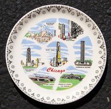 Vintage Chicago Ceramic Plate - $11.39