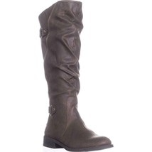 White Mountain Leto Slouch Knee High Boots, Coffee - $37.19