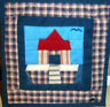 "Boyds Bears ""Noah's Ark Mini Quilt"" #6804 - Patchwork -Collectible Acces... - $18.99"