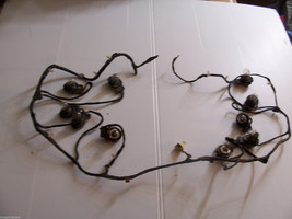 LESABRE WIRE HARNESS 11 LIGHT SOCKETS FOR TAIL BRAKE TURN OEM USED CUT E... - $96.77