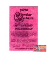 16- Wonder Wafers Strawberry Scent~Amazingly Fresh~ - $6.78